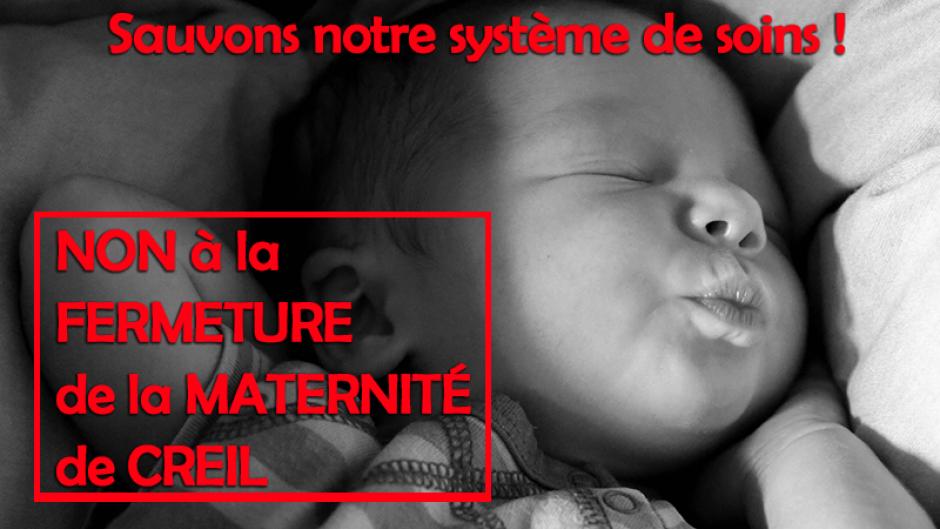 Fruit de la lutte : le dossier de la maternité de Creil est rouvert ! Poursuivons la mobilisation - Creil, 29 mars 2019
