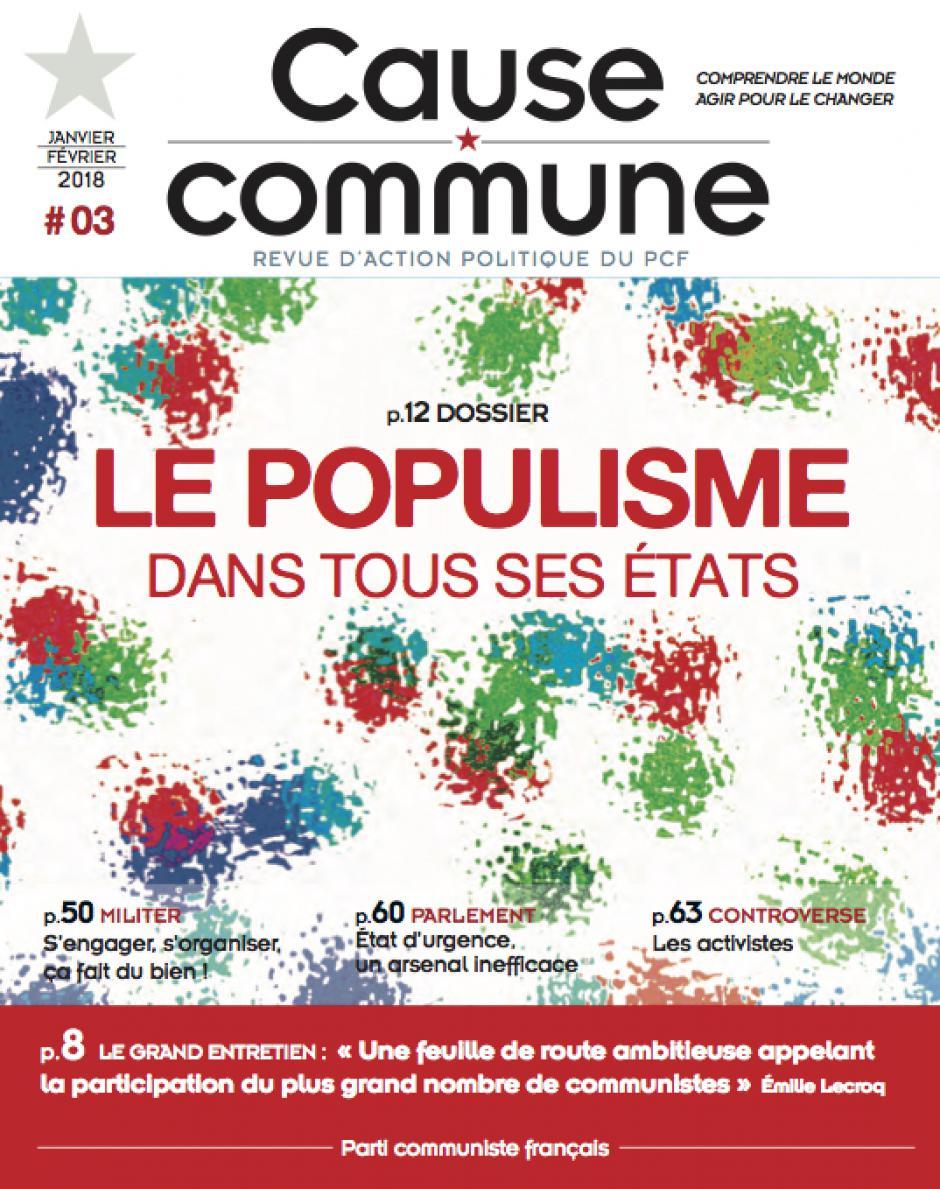 Cause commune, n° 3, janvier-février 2018