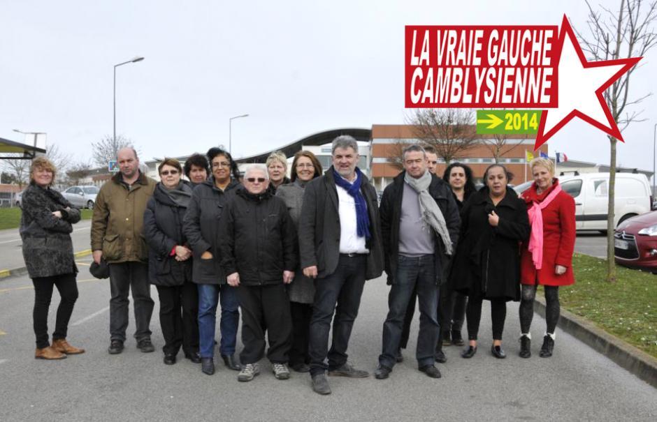 Élections municipales 2014 • Chambly • Liste « La vraie gauche camblysienne »