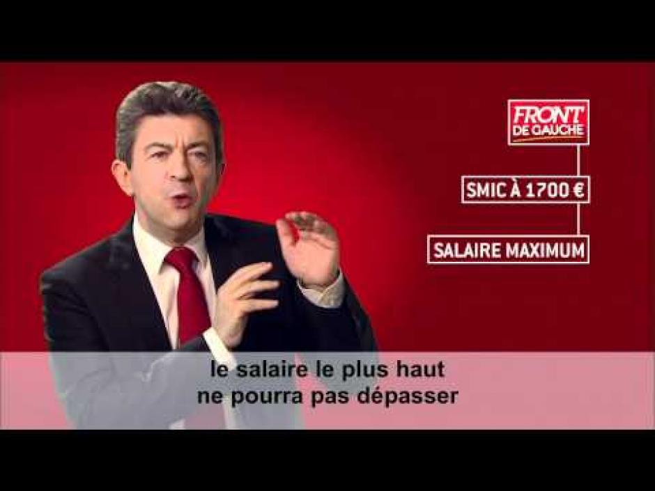 Jean-Luc Mélenchon-Clips officiels de la campagne présidentielle 2012