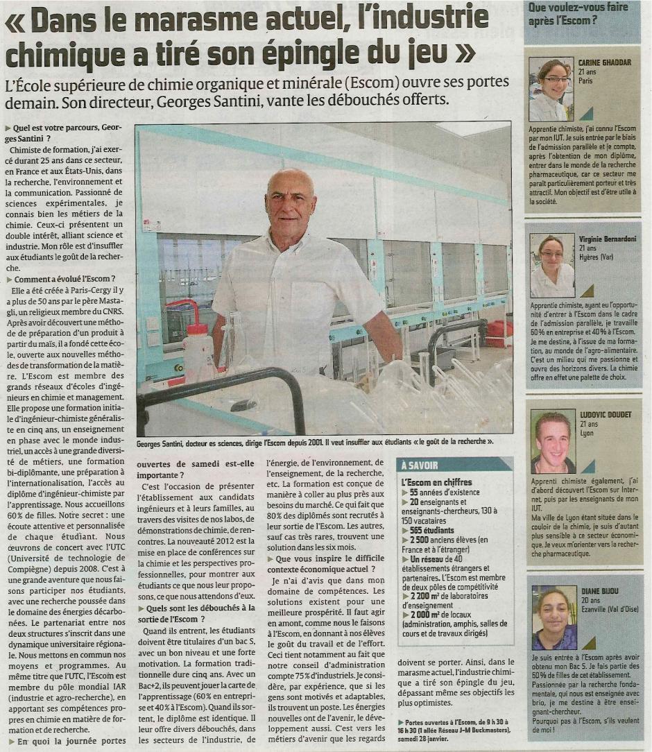 20120127-CP-Compiègne-École supérieure de chimie organique et minérale ESCOM