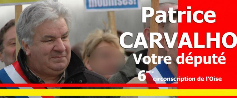 Patrice Carvalho - Lien vers le blog du député PCF-Front de gauche