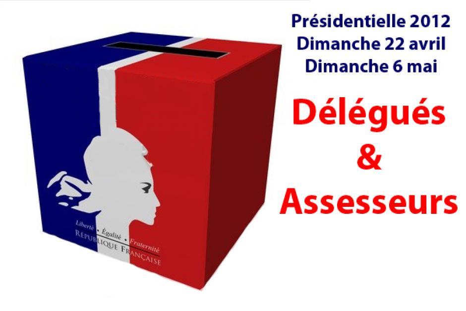 Présidentielle 2012 - Appel aux volontaires pour être présents dans les bureaux de vote