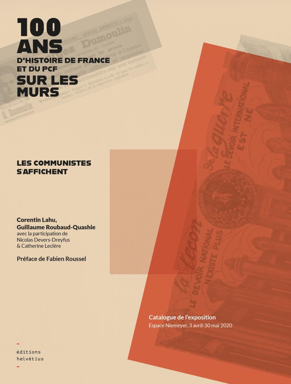 Je commande l'ouvrage « 100 ans d'histoire de France et du PCF sur les murs » !