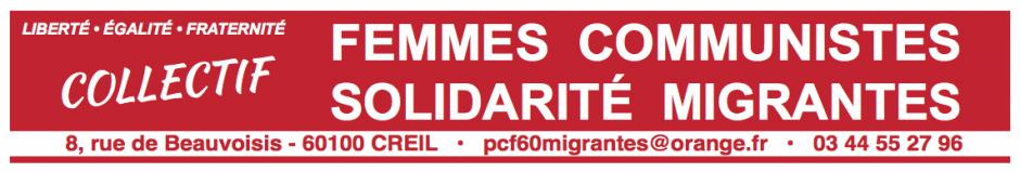 16 novembre, Crépy-en-Valois - Collecte de « Femmes Communistes Solidarité Migrantes »