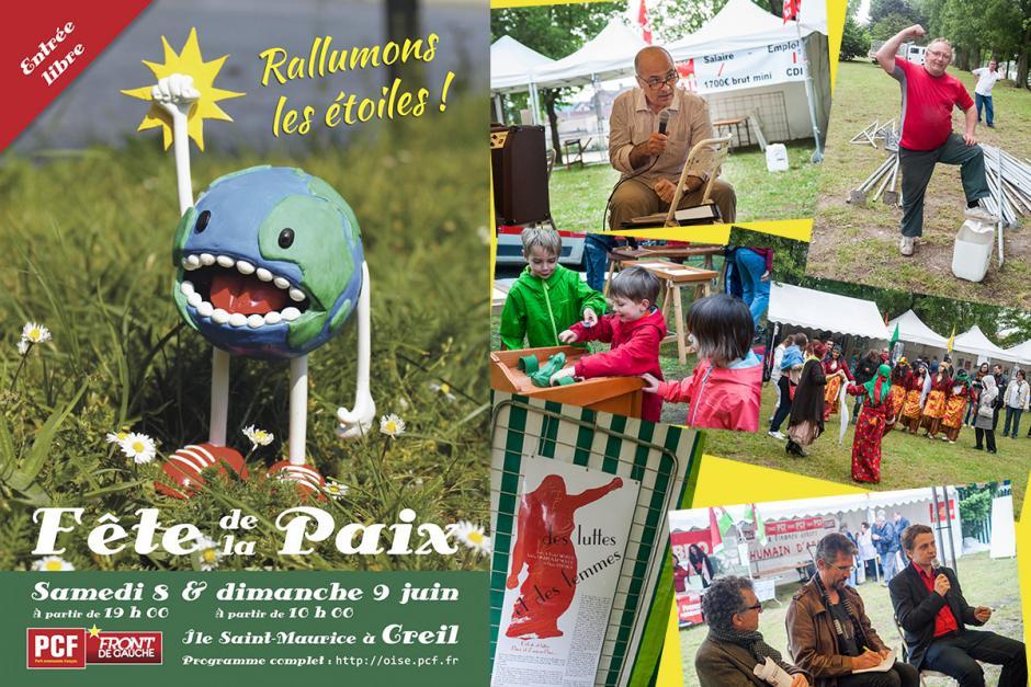 La Fête de la Paix sous la pluie, mais une belle ambiance au rendez-vous ! - Creil, 8 et 9 juin 2013