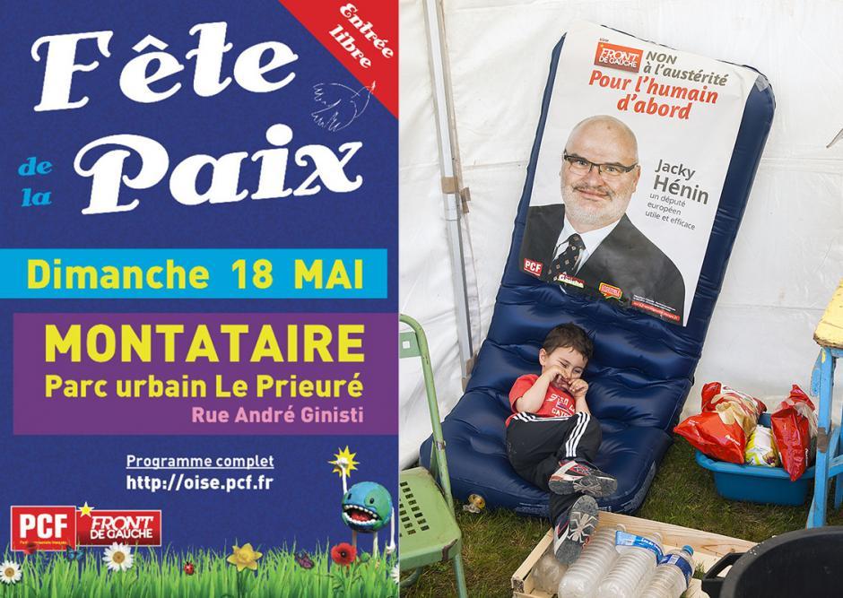 La Fête de la Paix sous le signe du soleil et de l'Europe - Montataire, 18 mai 2014