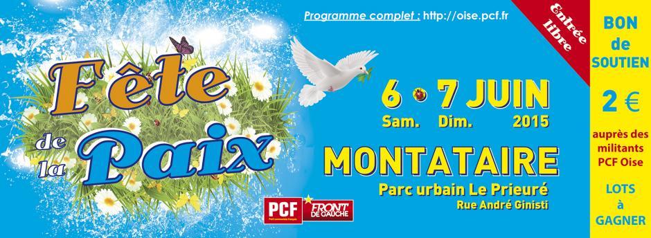 6 & 7 juin, Montataire - 11e Fête de la Paix