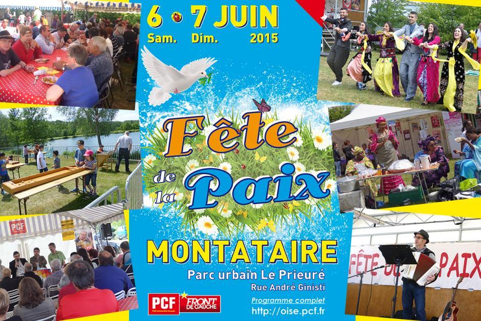 Très belle édition de la Fête de la Paix ! - Montataire, 6 et 7 juin 2015