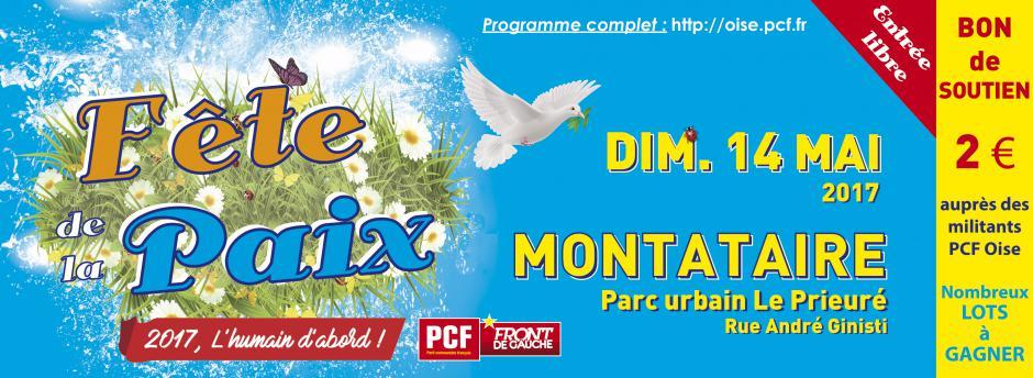 14 mai, Montataire - Fête de la Paix
