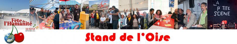 Fête de l'Huma : le stand de l'Oise ne se repose jamais ! - La Courneuve, 11 au 13 septembre 2015