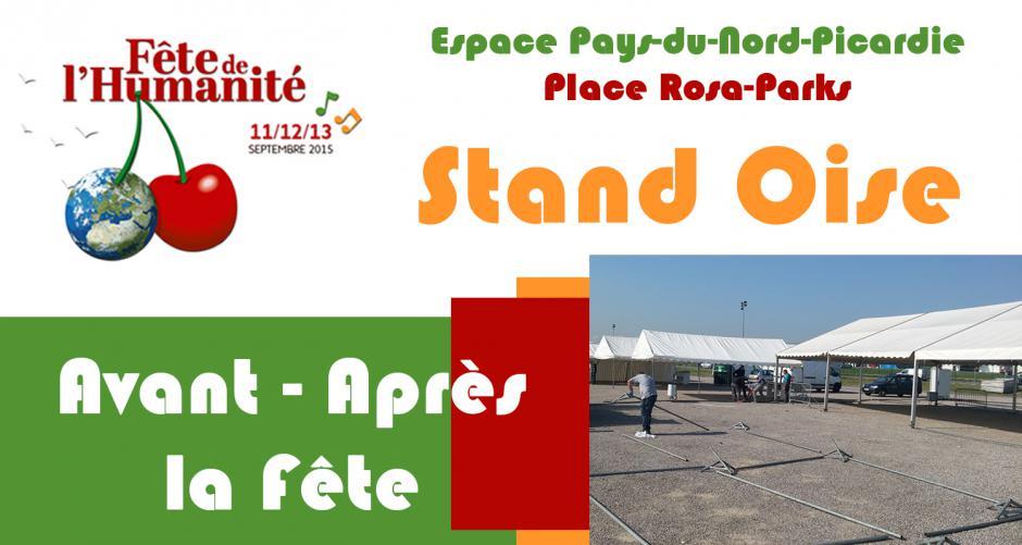 Stand de l'Oise : une semaine à la Courneuve - Fête de l'Huma 2015