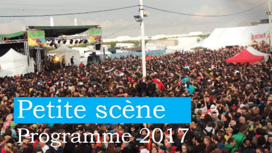 Quel programme sur la Petite scène à la Fête de l'Huma 2017 !