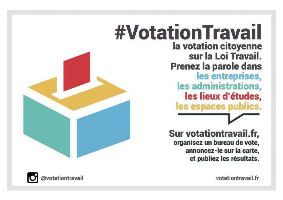 #VotationTravail : prenez partout la parole avec des bureaux de votes citoyens !