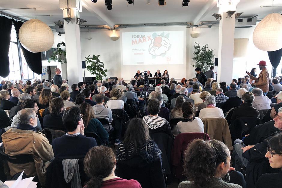 L'Humanité et Marx 2018 : un grand succès à la Bellevilloise - Paris, 17 février 2018