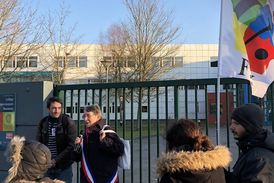 « On ne zappe pas nos Esap ! » - Creil, 22 février 2018