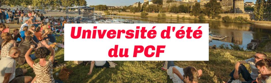 24 au 26 août, Angers - Université d'été du PCF