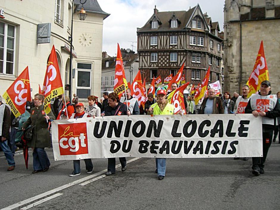Mobilisation réussie pour la manif du 1er mai ! - Compiègne, 1er mai 2012