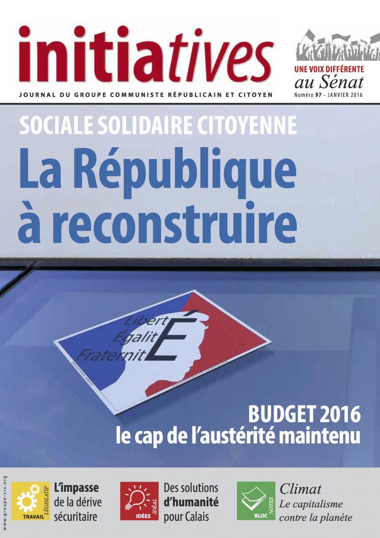 Jean-Pierre Bosino : « L'État doit recapitaliser Areva » - Initiative n° 97, janvier 2016