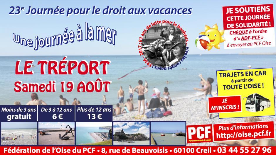 19 août, Le Tréport - 23e Journée à la mer
