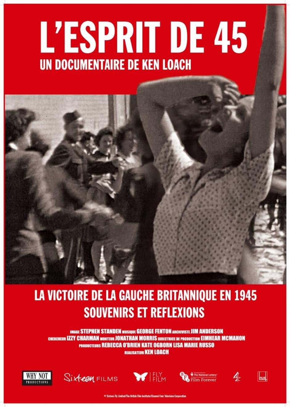 5 octobre, Clermont - Saisons du cinéma et ATTAC Oise-Ciné-débat « L'esprit de 45 »