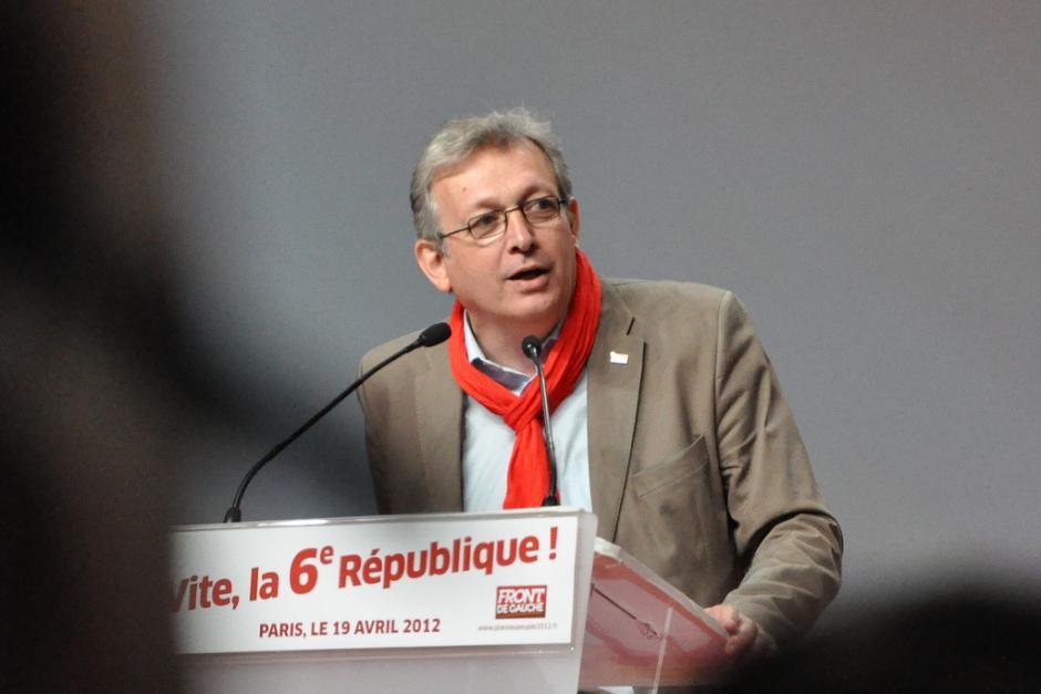 Déclaration de Pierre Laurent secrétaire national du PCF après le premier tour des législatives