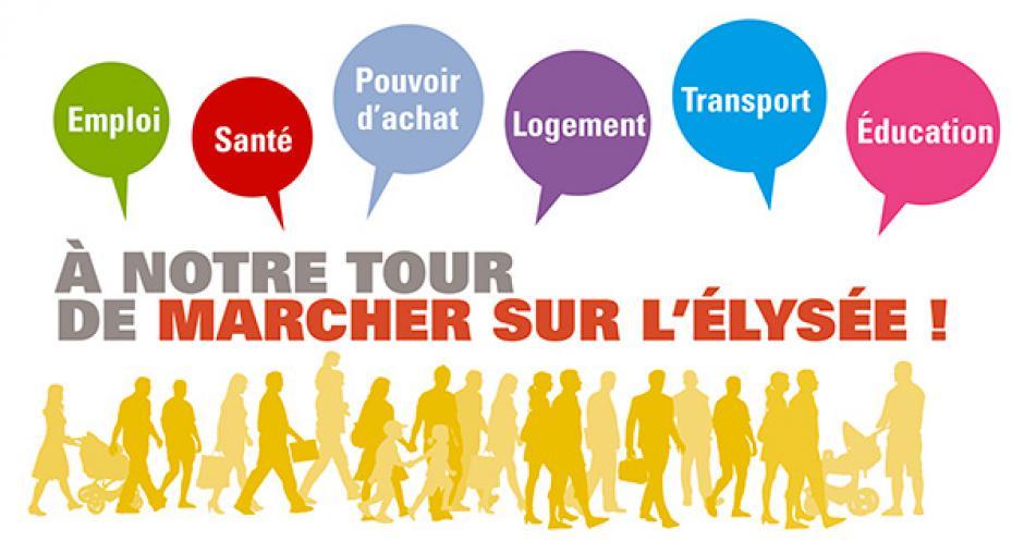 9 juin, Paris - Habitants des Hauts-de-France, à notre tour de marcher sur l'Élysée !