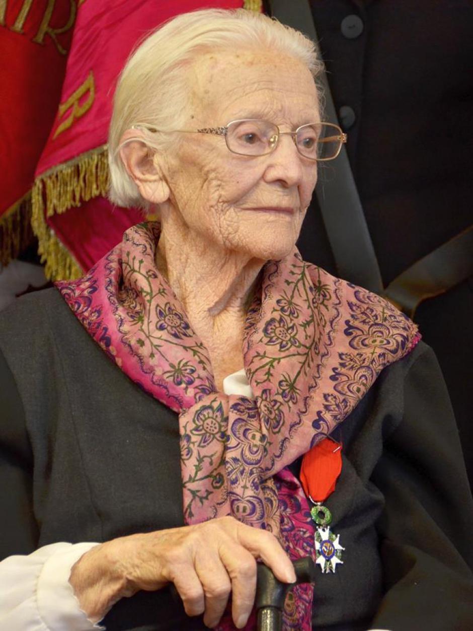 Décès d'une grande dame de la Résistance : notre camarade Lucienne Fabre-Sébart nous a quittés