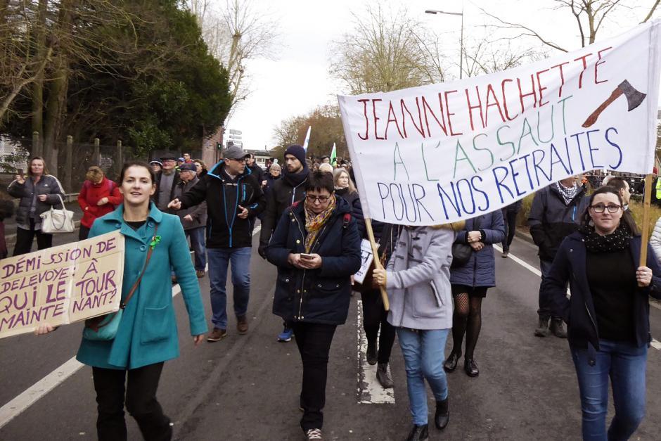 De nouvelles très fortes mobilisations rassembleuses pour le retrait du projet de réforme Macron des retraites ! - Oise, 17 décembre 2019