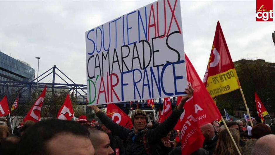 Air France : Le ministère du travail s'acharne contre le monde du travail (Isabelle De Almeida - PCF)