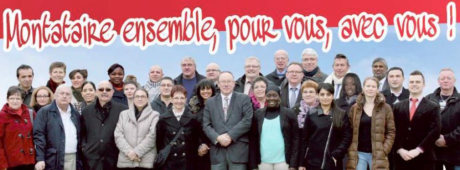 Élections municipales 2014 • Montataire • Liste « Montataire ensemble, pour vous, avec vous »