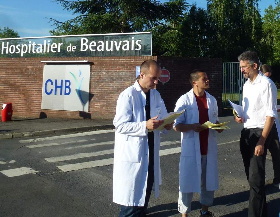 Communiqué de Thierry Aury concernant les personnels de l'hôpital de Beauvais en grève - 24 juillet 2013