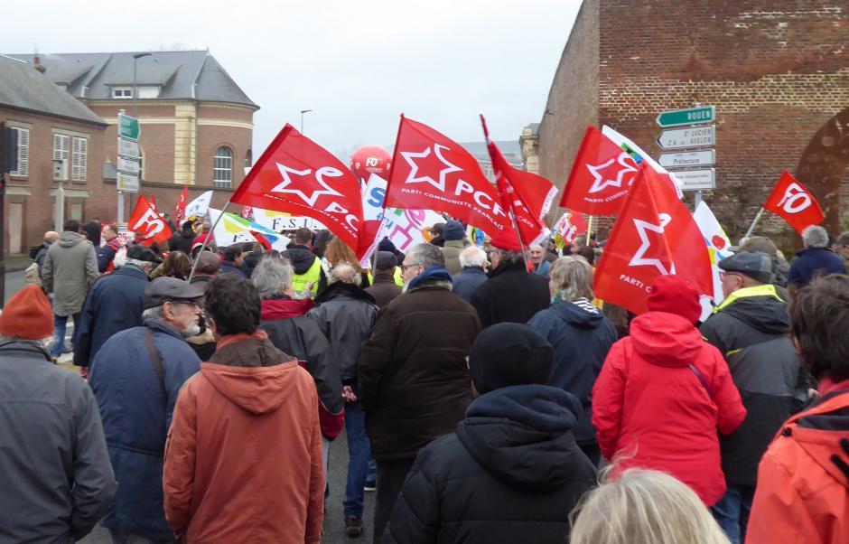 Réforme des retraites : nouvelle grosse journée de mobilisation ! - Oise, 9 janvier 2020