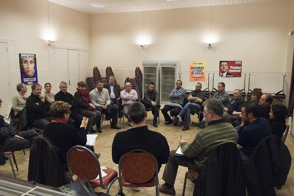 Punch balade les salariés de l'Oise - Crépy-en-Valois, 22 novembre 2012