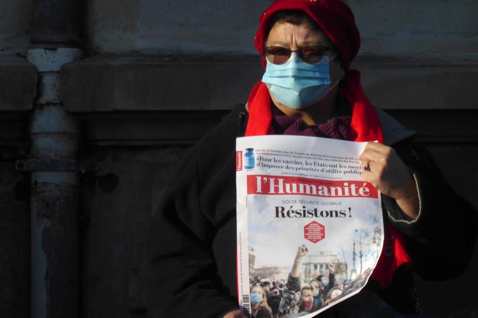 Pour le respect des libertés, contre les violences policières et pour le retrait du projet de loi « sécurité globale » - Beauvais et Creil, 28 novembre 2020