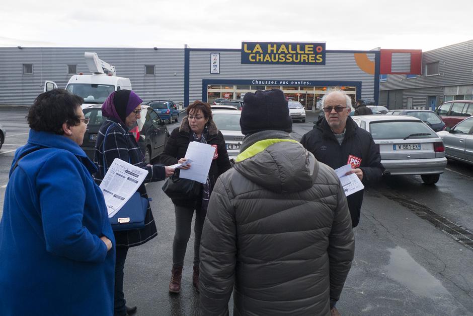Fermeture de La Halle aux chaussures : et le coût du capital, on en parle ? - Nogent-sur-Oise, 28 janvier 2017