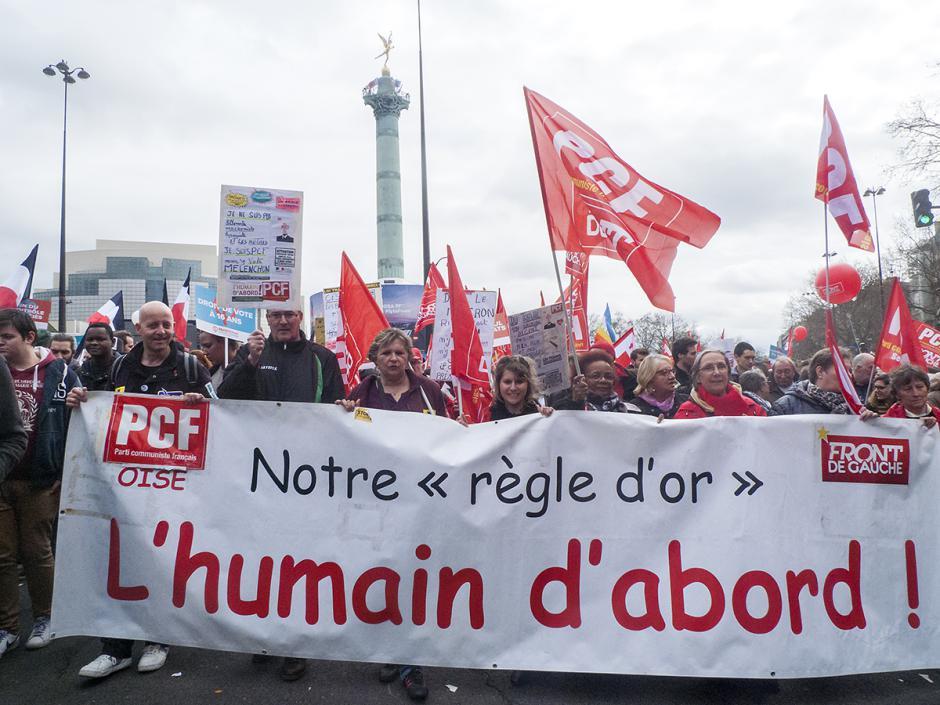 « L'humain d'abord » marche pour la 6e République ! - Paris, 18 mars 2017