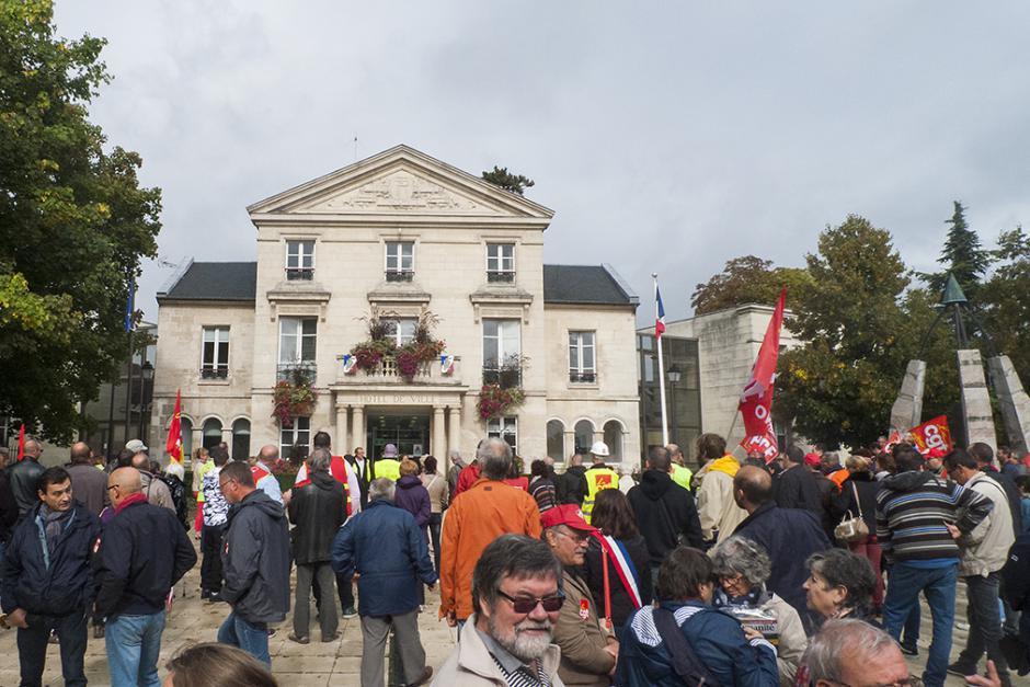 Une première journée d'action réussie contre la loi Travail XXL ! - Oise, 12 septembre 2017