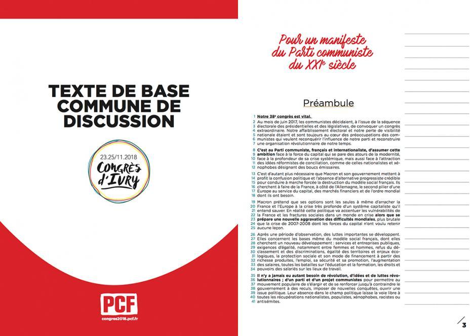 Congrès extraordinaire du PCF : les infos Oise