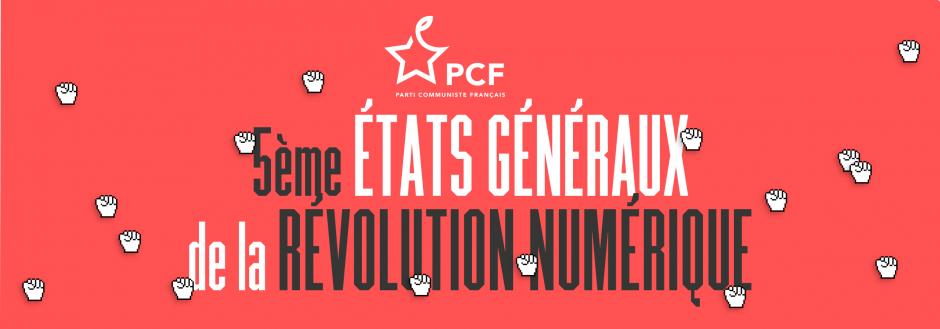 5e édition des États Généraux de la Révolution Numérique