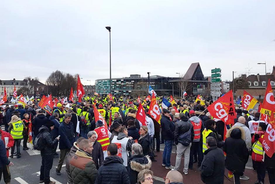Faisons converger nos colères, nos revendications, nos luttes, nos forces ! - Beauvais, 5 février 2019