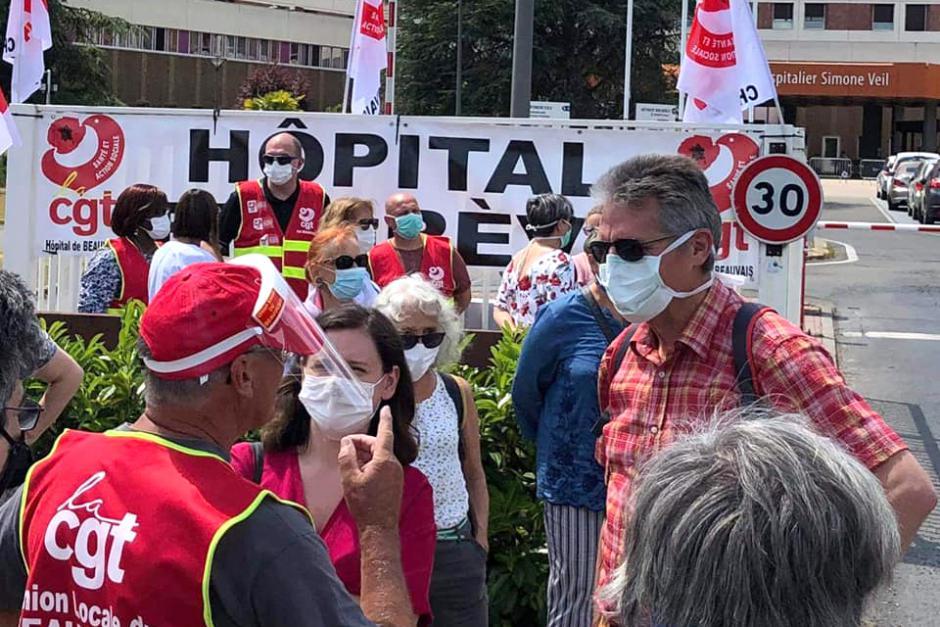 « Mardi de la colère » : des mesures concrètes pour l'hôpital ! - Beauvais, 2 juin 2020