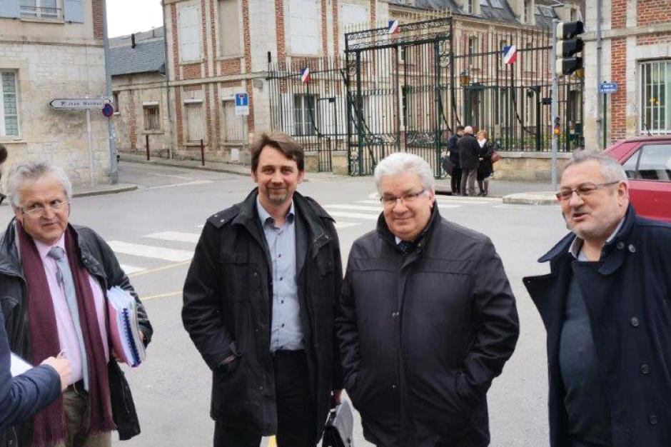 Les Élus Communistes et Républicains de l'Oise dénoncent la loi NOTRe - Beauvais, 21 mars 2016