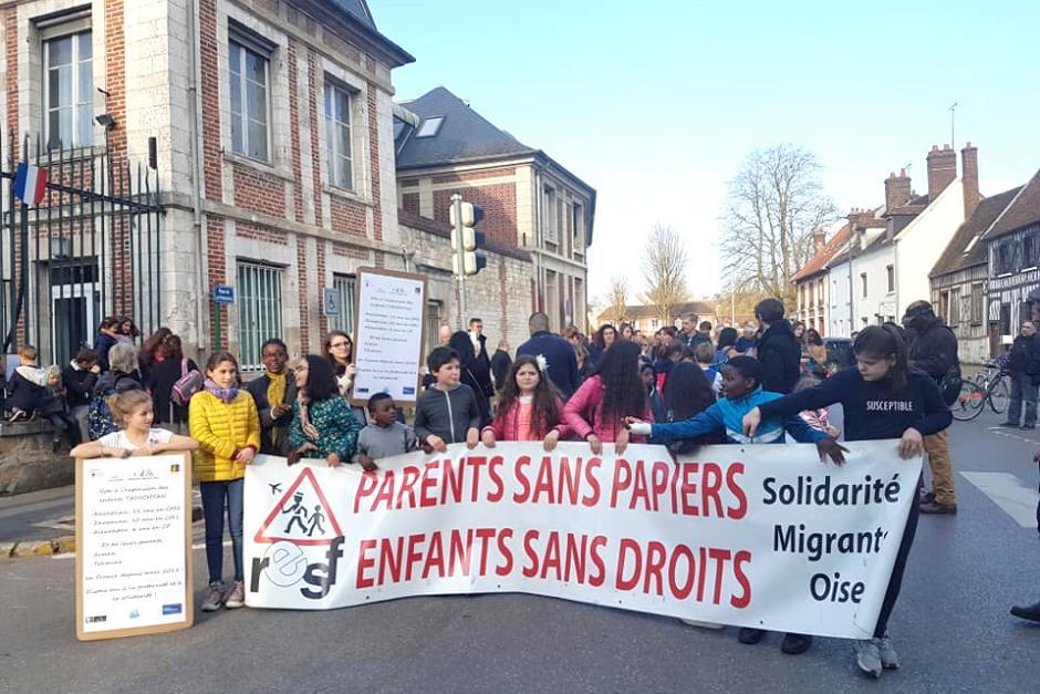 M. le Préfet, écoutez ces enfants : ils sont la voix de l'humanité telle qu'elle devrait être ! - Beauvais, 29 mars 2019