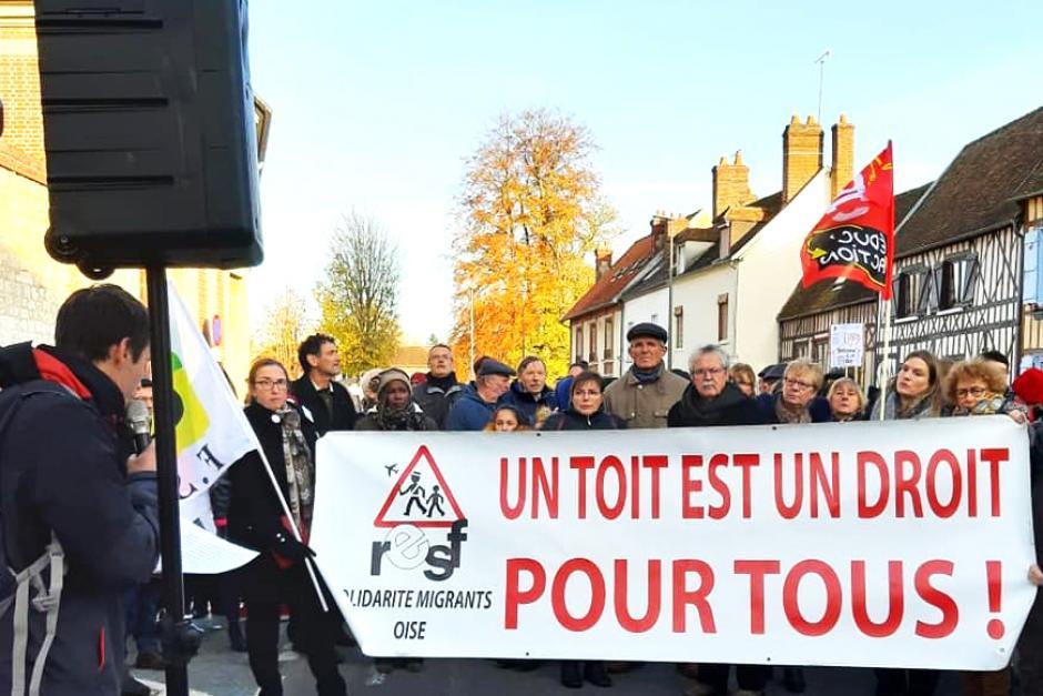Urgence : exigeons le relogement des bébés, enfants, familles, femmes et hommes à la rue ! - Beauvais, 20 novembre 2019
