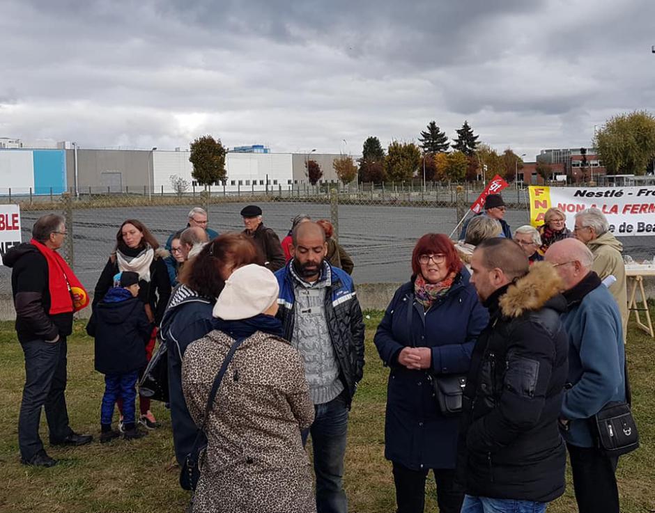 France 3 Picardie-JT 19-20-Beauvais-Non à la fermeture de Froneri-Nestlé !