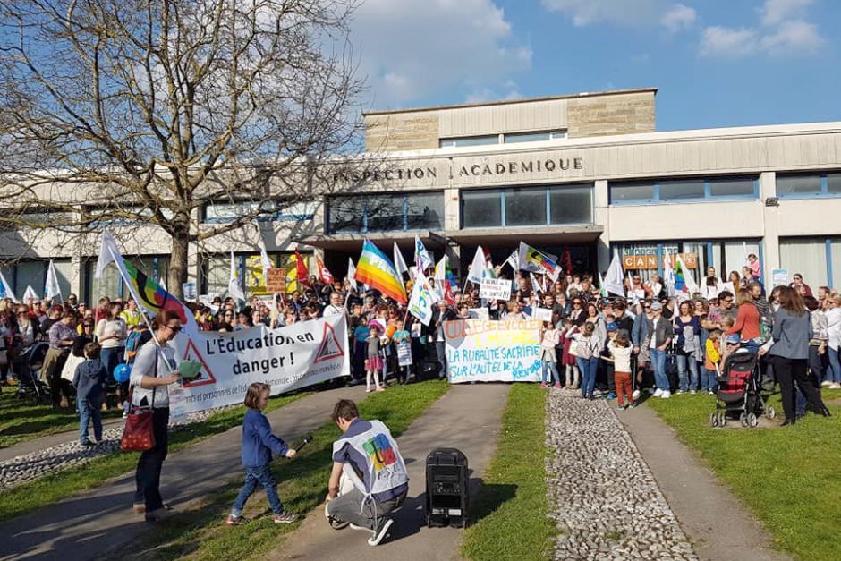 Non à l'école de la concurrence, pour une école de l'égalité et de l'émancipation ! - Beauvais, 30 mars 2019