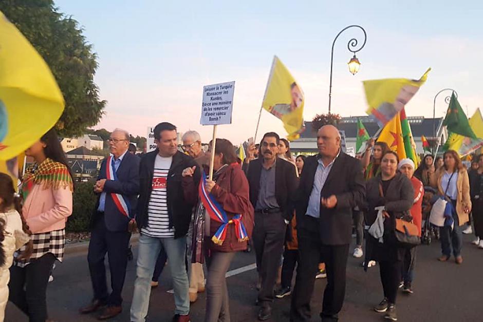 Soutien au peuple kurde et à la paix - Creil, 11 octobre 2019
