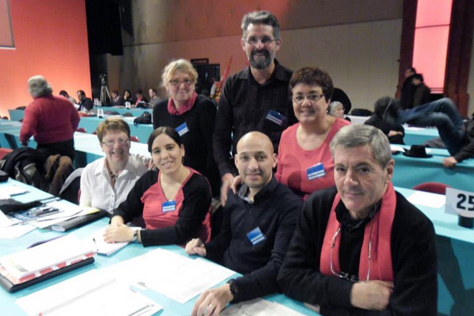 36e congrès du PCF - Premier jour pour les délégués de l'Oise - Les Docks d'Aubervilliers, 7 février 2013