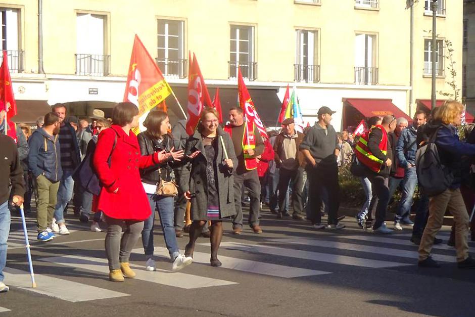 Mobilisation contre la casse du modèle social par Macron et son gouvernement ! - Beauvais & Compiègne, 9 octobre 2018